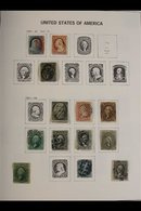 1851-1944 OLD TIME COLLECTION. CAT £3500+  A Clean And Attractive Mint & Used Collection (mostly Used) Presented In A DA - Unclassified