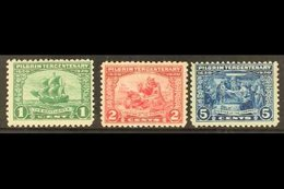 1920  Tercentenary Of The Pilgrim Fathers Set, Scott 548/550, Never Hinged Mint. (3 Stamps) For More Images, Please Visi - Unclassified
