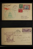 AIRMAIL COVERS  1926-89 TWO VOLUME COLLECTION With First Flight Covers, Postal Stationery Postcards Or Envelopes, Quanti - Unclassified