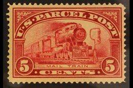 PARCEL POST  1912-13 5c Carmine-rose, Scott Q5, Never Hinged Mint. For More Images, Please Visit Http://www.sandafayre.c - Unclassified