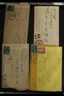 POSTAL HISTORY & COVERS  FOUR VOLUME COLLECTION Of Postal History & Assorted Covers, We See First Day Covers, Postal Sta - Unclassified