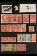 SORTER CARTON  Late 19th Century To 1990's Mint, NHM & Used Stamps On Various Pages, Stock Cards & In Packets, Includes  - Unclassified