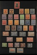 1911-1929 COMPREHENSIVE FINE MINT  On Stock Pages, All Different, Highly Complete For The Period, Includes 1912-15 Set W - Uruguay