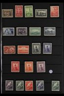 1930-1944 COMPREHENSIVE FINE MINT COLLECTION  On Stock Pages, All Different, Virtually COMPLETE For The Period, Includes - Uruguay