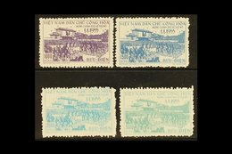1956  Return Of Government To Hanoi, Complete Set. SG N42/45, Scott 28/31, Very Fine Unused, No Gum As Issued And Free F - Vietnam