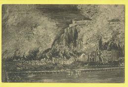 * Dinant (Namur - Namen - La Wallonie) * (Nels, Edition Janus) Le Sac De Dinant, 23 Aout 1914, Guerre, War, Bombardement - Dinant