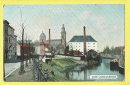* Gent - Gand (Oost Vlaanderen) * (EDN VO-DW Anvers) Le Quai Des Moines, Canal, Bateau, Péniche, TOP, Couleur, Industrie - Gent