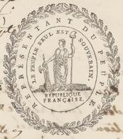 Colmar An 3 - 28.9.1794 Foussedoire Représentant Du Peuple - Historical Documents