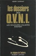 Lot De Deux Livres - Les Dossiers Des O.V.N.I. Et Disparitions Mysterieuses - Lots De Plusieurs Livres