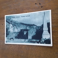 Cartolina Postale 1922, Cortona Piazzale Garibaldi - Arezzo