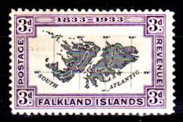 Falkland-0024 - Emissione 1933 (+) LH - Senza Difetti Occulti. - Falkland