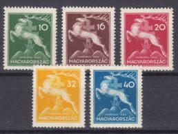 Hungary 1933 Mi#511-515 Mint Hinged - Hongrie