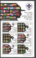 Turks & Caicos 2008 Scouts Centenary Sheet Y.T. 1694/1699 ** - Turks & Caicos (I. Turques Et Caïques)