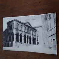 Cartolina Postale 1914, Cortona Teatro Signorelli - Arezzo
