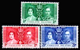 Falkland-0025 - Emissione 1937 (++) MNH - Senza Difetti Occulti. - Falkland