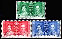 Falkland-0026 - Emissione 1937 - Senza Difetti Occulti. - Falkland