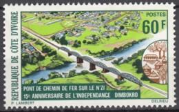 N° 394 De La Côte D'Ivoire - X X - ( E 82 ) - Bridges