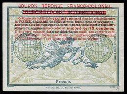 FRANCE  Coupon Réponse Provisoire / Provisional Reply Coupon - Entiers Postaux