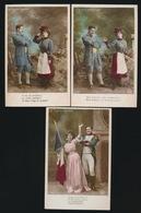 "Opéra - '' La Fille Du Regiment "" - 5 Cartes  2 Scans - Opéra"
