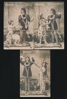 "Opéra - '' Tannhäuser "" - 5 Cartes  2 Scans - Opéra"