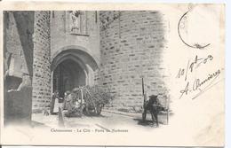 CPA 108  -  CARCASSONNE La Cité Porte De Narbonne - Carcassonne