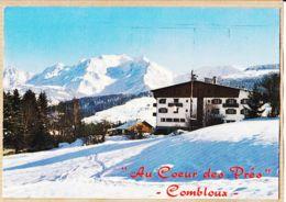 X74218 COMBLOUX Haute-Savoie Hotel-Restaurant AU COEUR Des PRES Fac Chaîne MONT-BLANC 1970s / LA BERANGERE - Combloux
