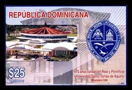 Dominican Republic 2014 Mih. Bl.66 St Thomas Aquinas University MNH ** - Dominikanische Rep.