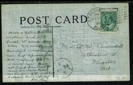 Ref 1304 - 1908 Comic Postcard - Strathcona Alberta Postmark Unusual Ontario Arrival Canada - Alberta
