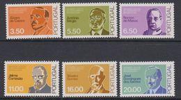 Portugal 1980 Vultos Do Pensamento Republicano 6v ** Mnh  (43284) - 1910-... Republiek