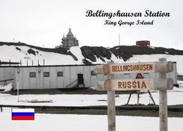 Antarctica Bellingshausen Station Russia New Postcard Antarktis AK - Ansichtskarten