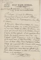 Armée Du Haut-Rhin Etat-Major-Général 1793 Signature Cuhegru Blotzheim Campagne D'Artillerie - Historical Documents