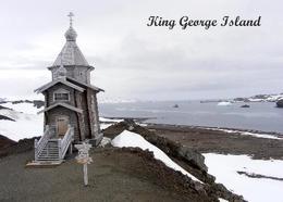 Antarctica Bellingshausen Station Church Russia New Postcard Antarktis AK - Ansichtskarten