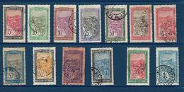 "Madagascar YT 131 à 136 "" Transport "" 1922-26 Oblitéré - Madagascar (1889-1960)"