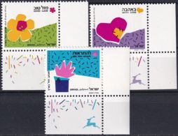 ISRAEL 1989 Mi-Nr. 1147/49 ** MNH - Israel