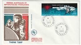 FDC - TAAF - N°PA 78  (1983) - FDC