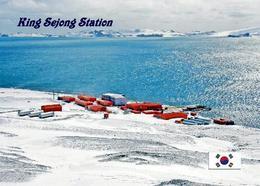 Antarctica King Sejong Station Korea New Postcard Antarktis AK - Ansichtskarten