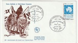 FDC - TAAF - N°91  (1980) - FDC
