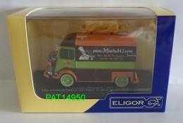 CITROEN TYPE H HY SNACK FOOD TRUCK MINITUB43 De 1975  Marque ELIGOR - Eligor