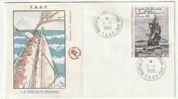FDC - TAAF - N°PA 88  (1985) - FDC