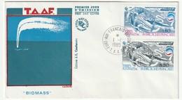 FDC - TAAF - N°113/4  (1985) - FDC