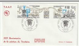 FDC - TAAF - N°PA 91A  (1985) - FDC