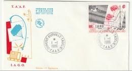 FDC - TAAF - N°PA 95  (1986) - FDC
