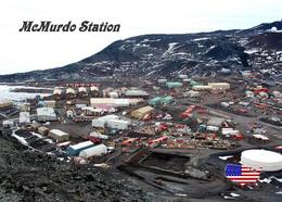 Antarctica McMurdo Station United States New Postcard Antarktis AK - Sonstige
