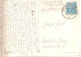 Germany & Marcofilia, Ostseebad Ahlbeck,  D.D.R Seebad Ahlbeck 1955  (5069) - [6] Repubblica Democratica