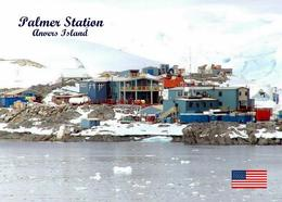 Antarctica Anvers Island Palmer Station United States New Postcard Antarktis AK - Sonstige