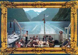 1 AK Norwegen * Der Sognefjord - Der Längste (204 Kilometer) Und Gleichzeitig Der Tiefste (1308 Meter) Fjord Europas * - Norwegen