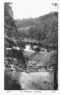 GRESFORD - THE WATERFALL ~ AN OLD REAL PHOTO POSTCARD #94013 #94013 - Other