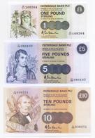 Scotland Clydesdale Bank 6 Note Set 1983-91 COPY - [ 3] Scotland