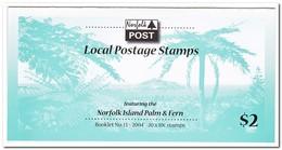 Norfolk Eiland 2004, Postfris MNH, Trees ( Booklet, Carnet ) - Norfolk Eiland