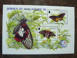 1995  BUTTERFLIES  SINGAPORE 95   ** MNH - Jersey